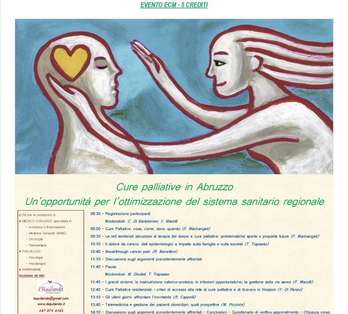 Cure Palliative in Abruzzo - L'Aquila 12 Dicembre 2019